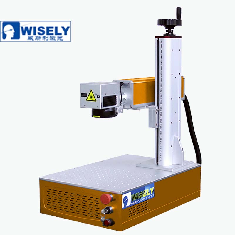Raycus Rotale 360 degrees Fiber Laser Marking Machine